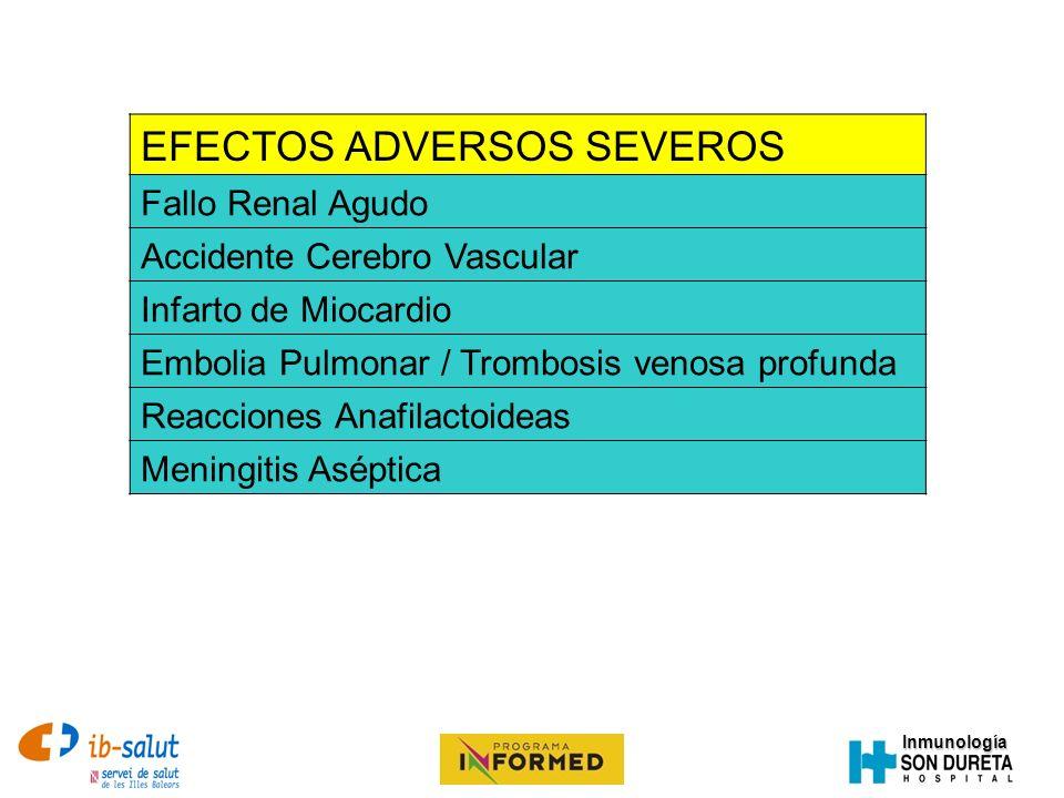EFECTOS ADVERSOS SEVEROS