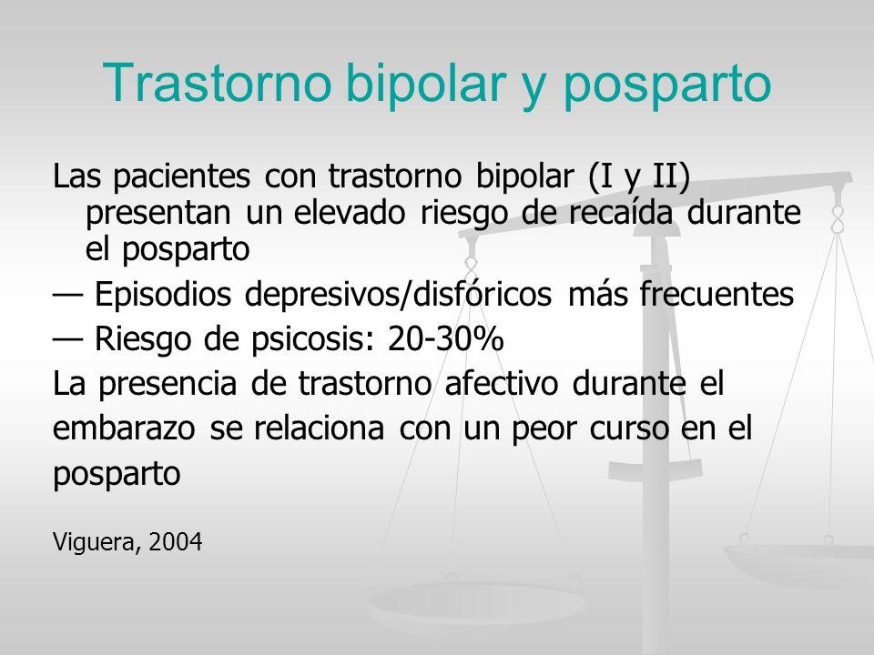 Trastorno bipolar y posparto