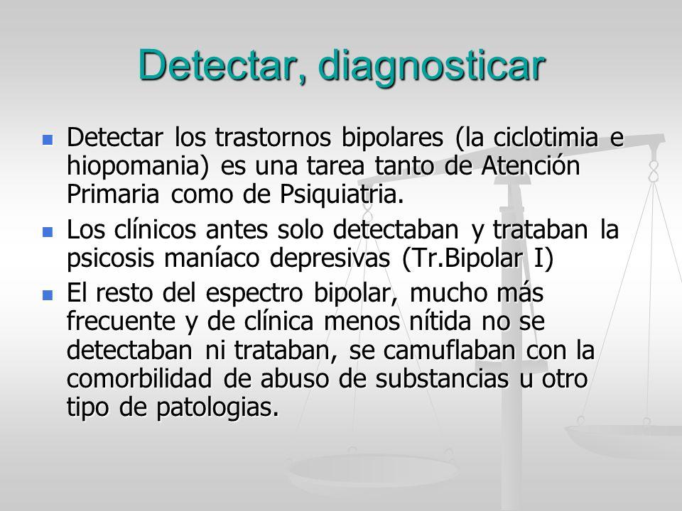 Detectar, diagnosticar