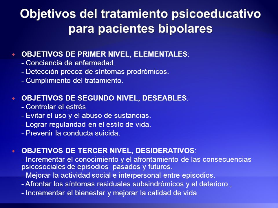 OBJETIVOS DE PRIMER NIVEL, ELEMENTALES: