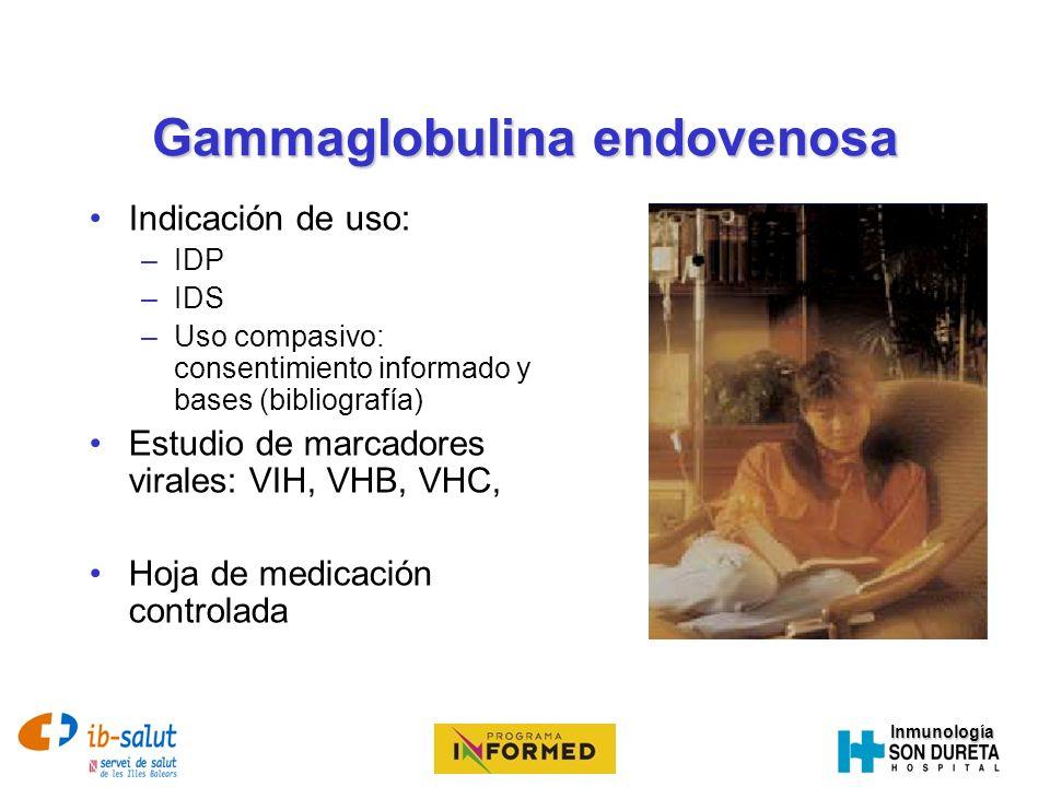 Gammaglobulina endovenosa