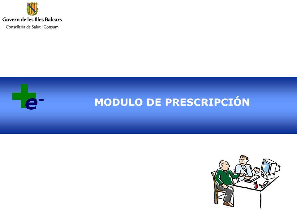 MODULO DE PRESCRIPCIÓN