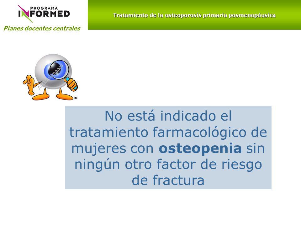Tratamiento de la osteoporosis primaria posmenopáusica