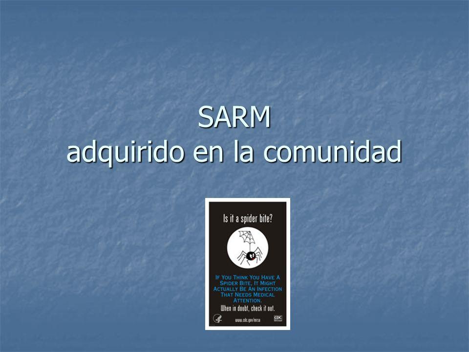 SARM adquirido en la comunidad