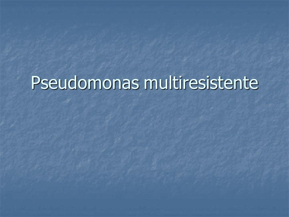 Pseudomonas multiresistente