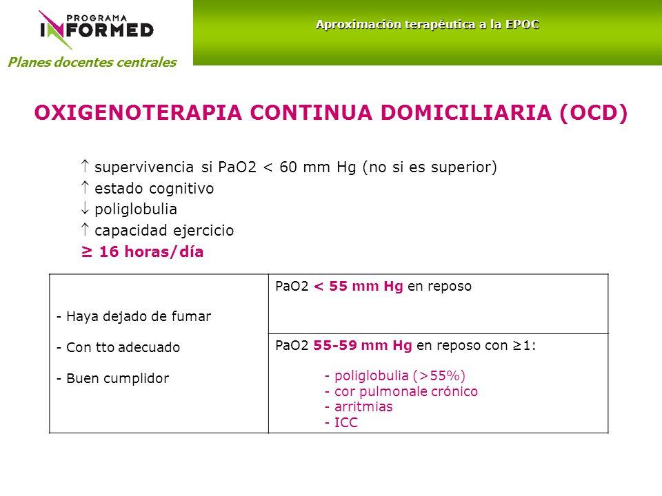 OXIGENOTERAPIA CONTINUA DOMICILIARIA (OCD)