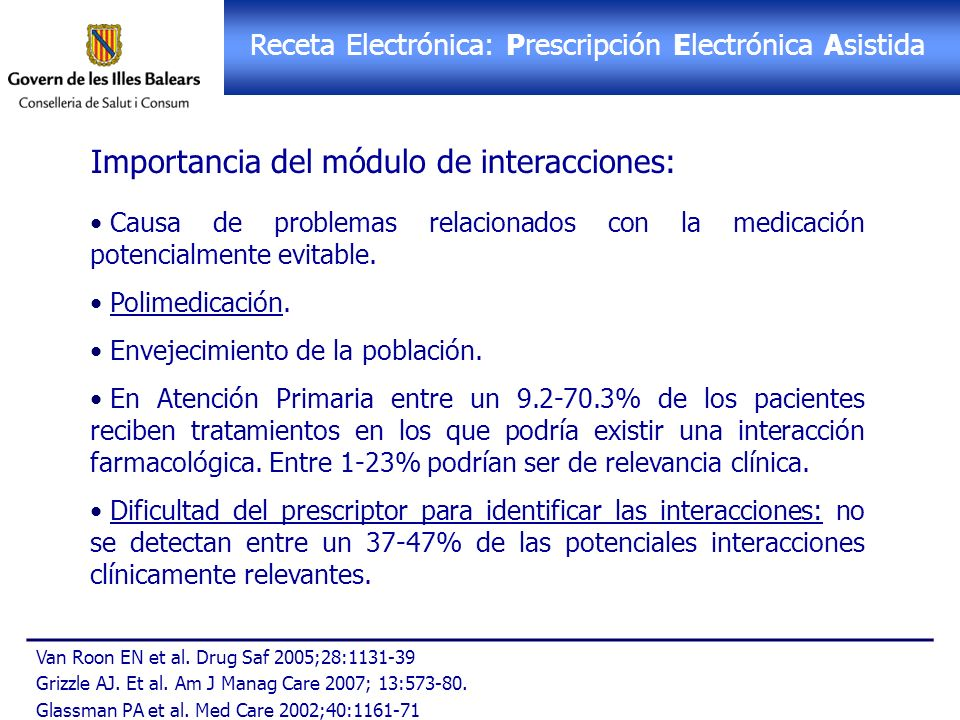 Receta Electrónica: PEA