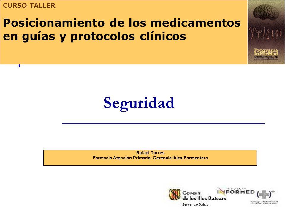 Rafael Torres Farmacia Atención Primaria. Gerencia Ibiza-Formentera