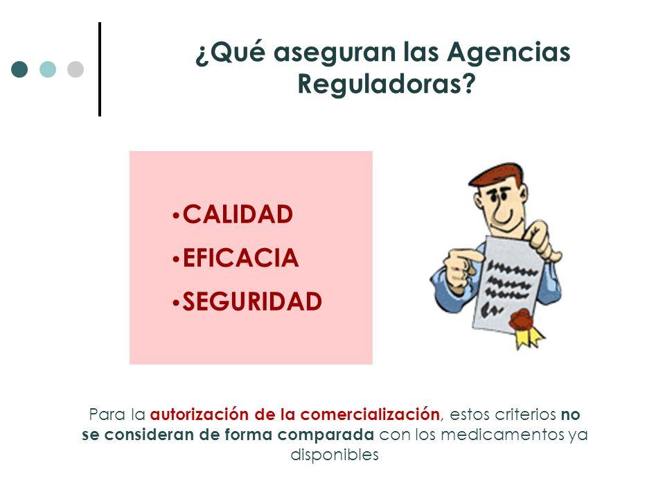 ¿Qué aseguran las Agencias