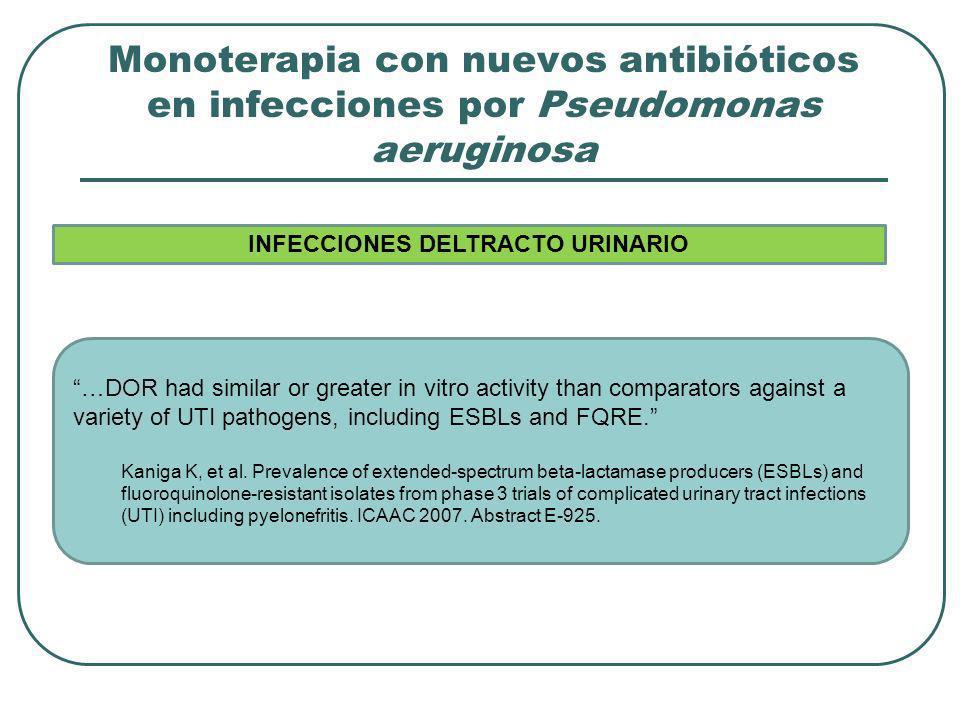 INFECCIONES DELTRACTO URINARIO