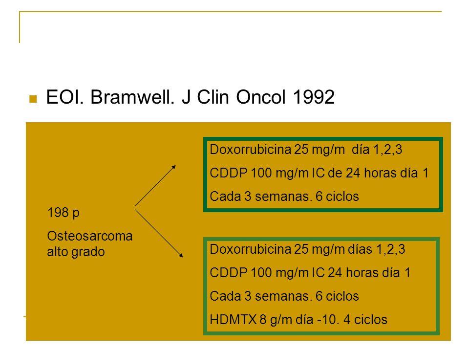 EOI. Bramwell. J Clin Oncol 1992
