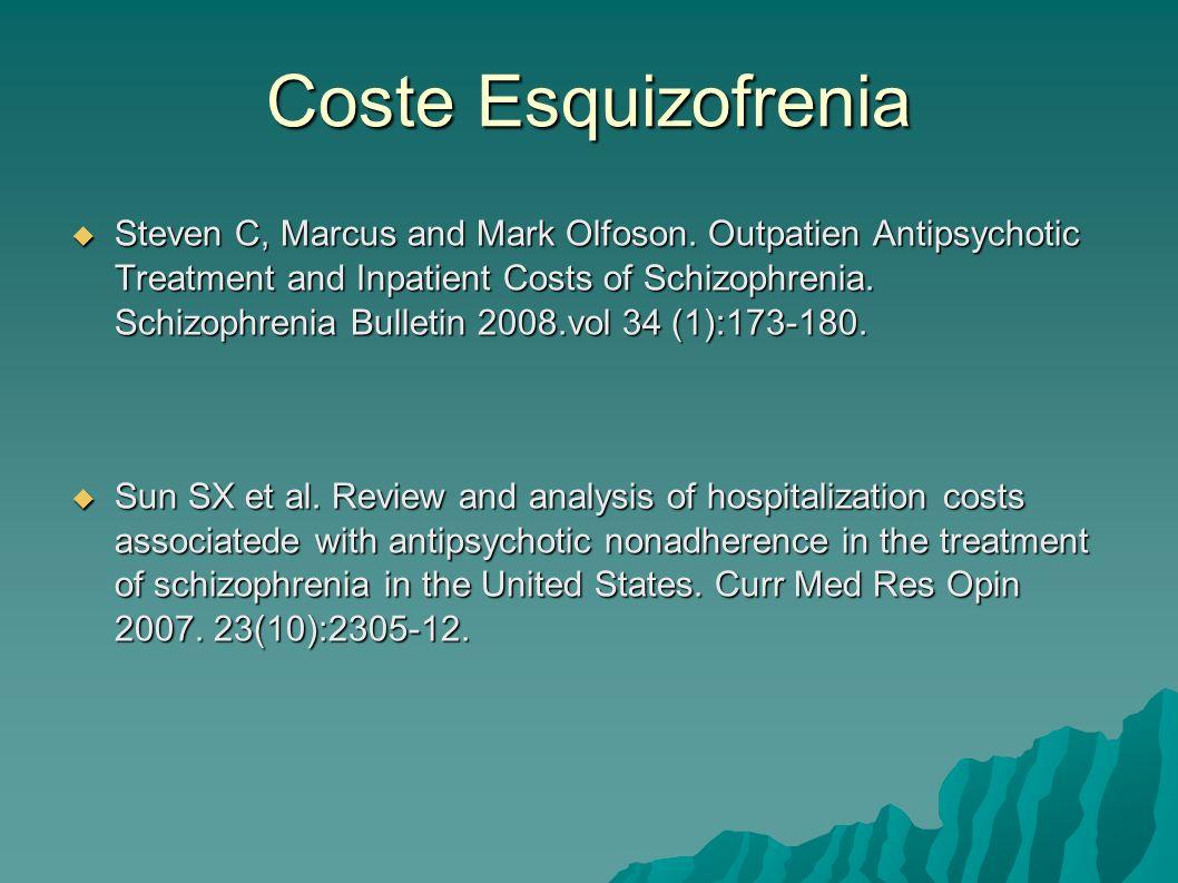 Coste Esquizofrenia