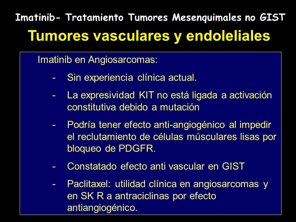 Tumores vasculares y endoleliales