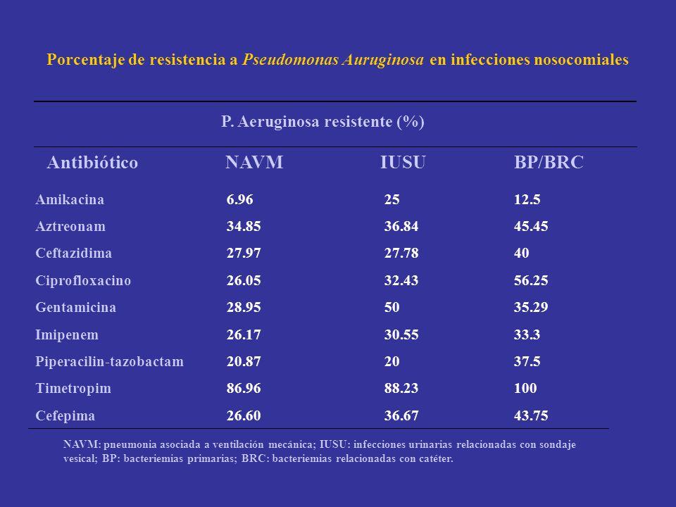 Antibiótico NAVM IUSU BP/BRC