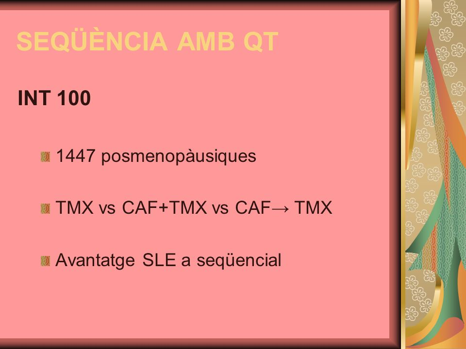 SEQÜÈNCIA AMB QT INT 100 1447 posmenopàusiques