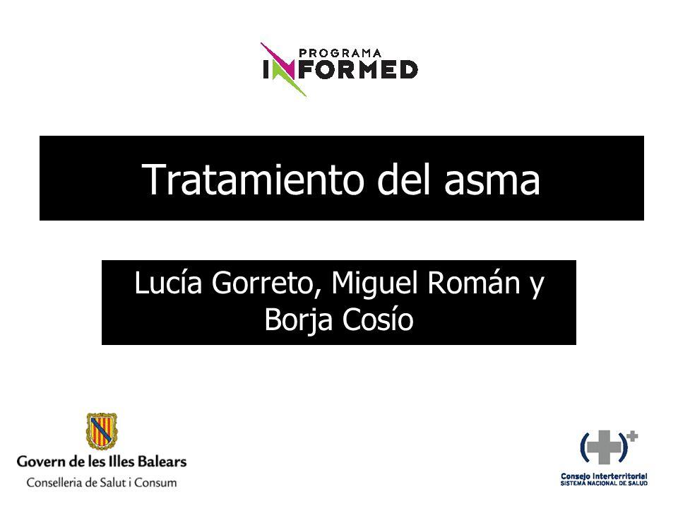 Lucía Gorreto, Miguel Román y Borja Cosío
