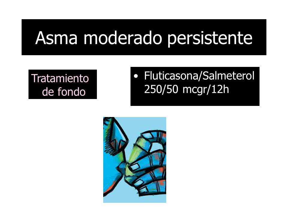 Asma moderado persistente