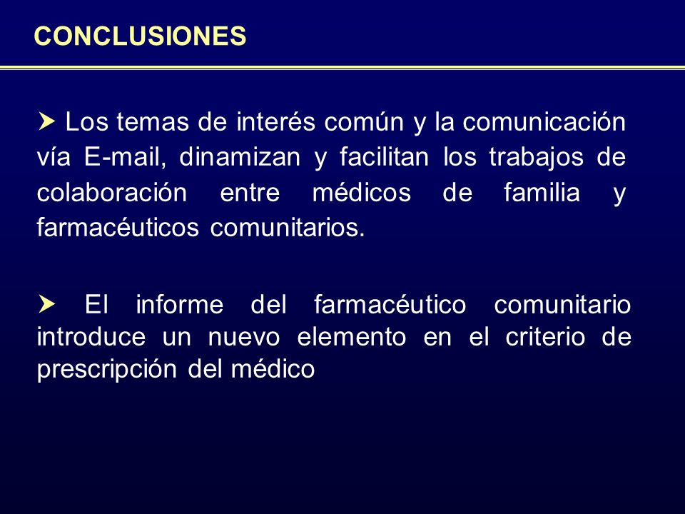 CONCLUSIONES Proyecto ICOF.