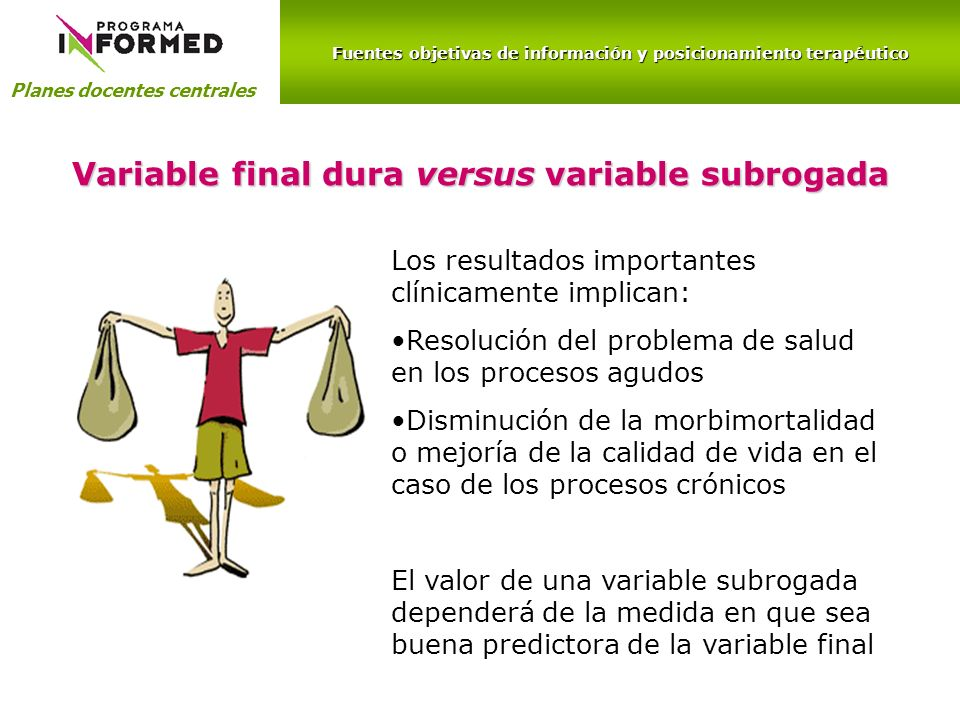 Variable final dura versus variable subrogada