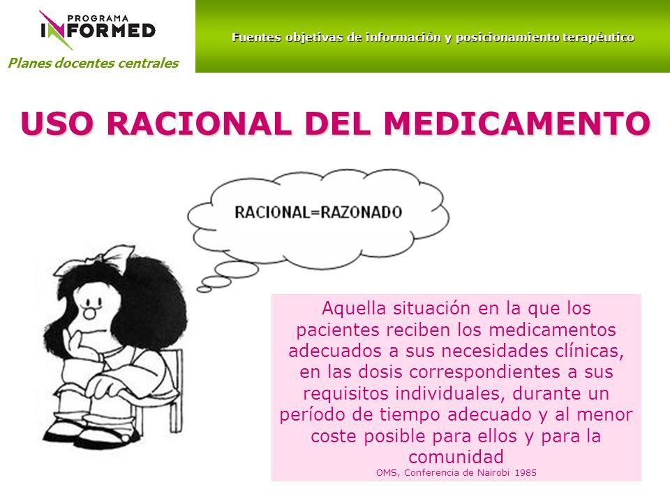 USO RACIONAL DEL MEDICAMENTO