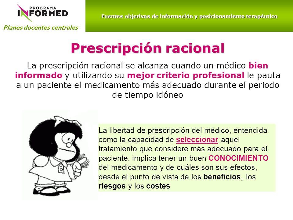 Prescripción racional