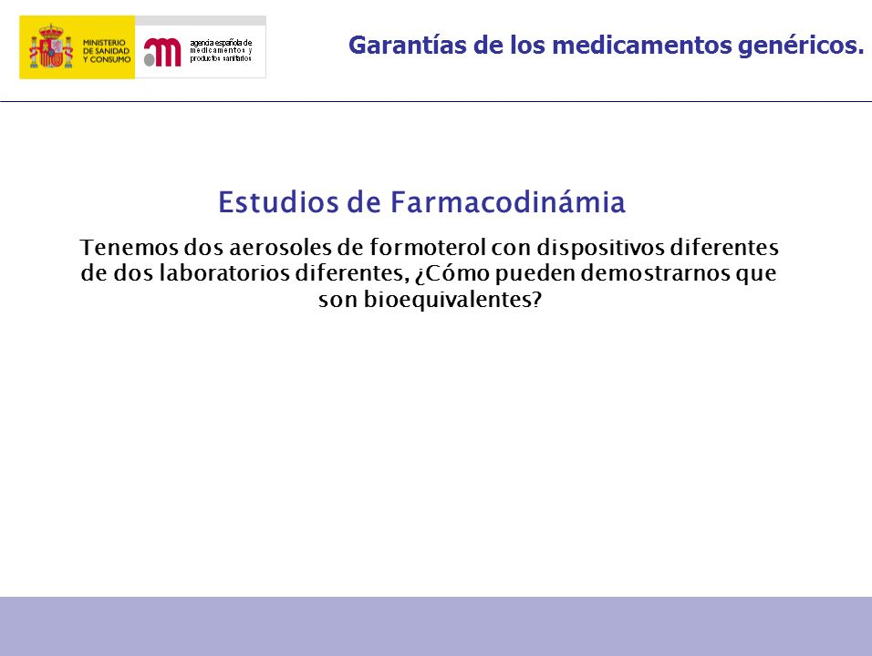 Estudios de Farmacodinámia