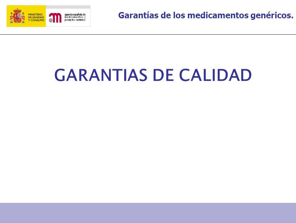 GARANTIAS DE CALIDAD