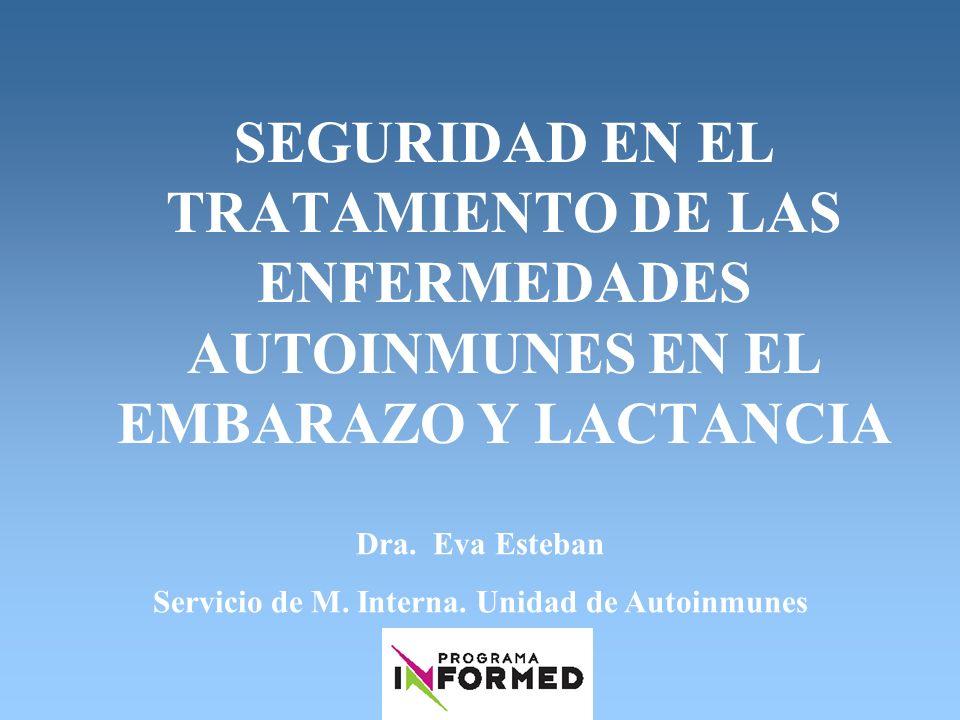 Servicio de M. Interna. Unidad de Autoinmunes