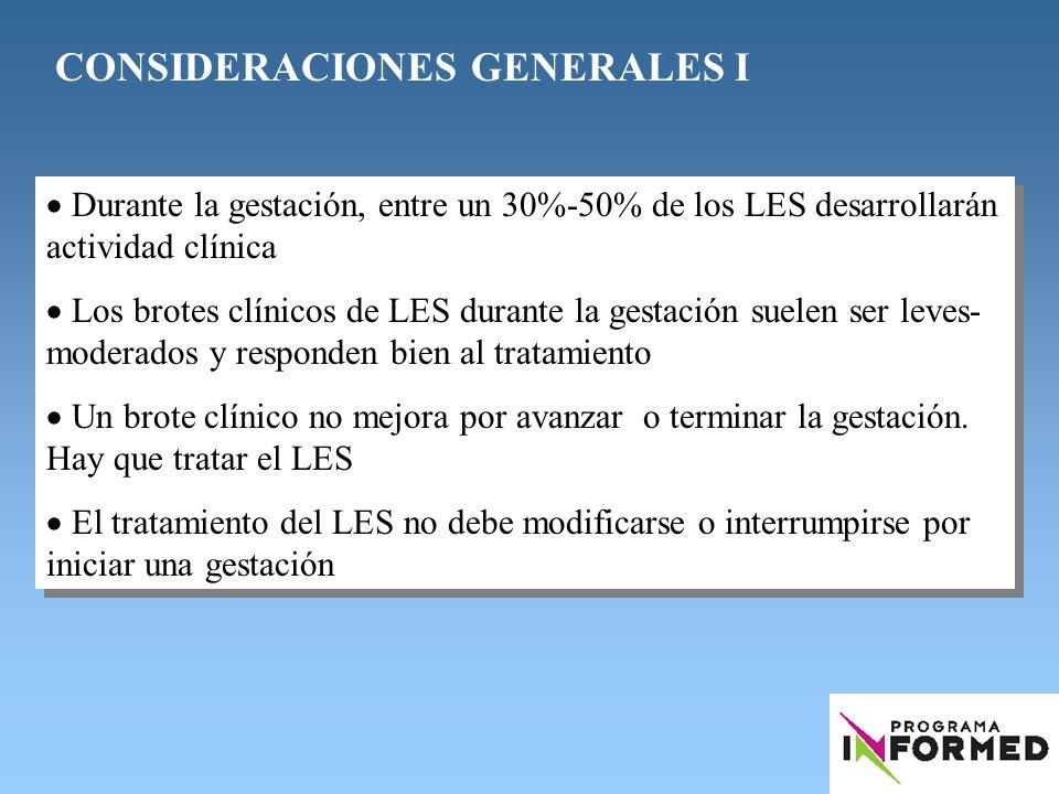 CONSIDERACIONES GENERALES I