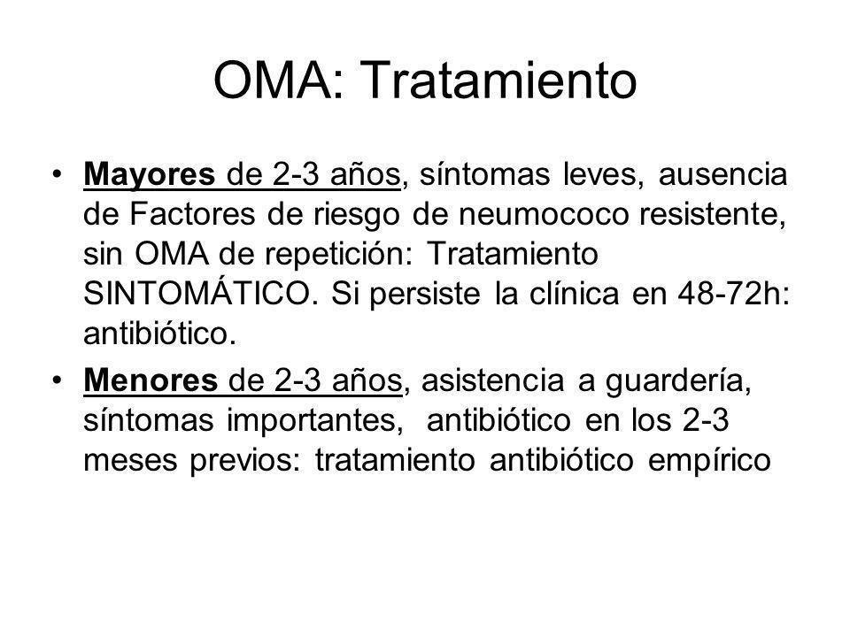 OMA: Tratamiento