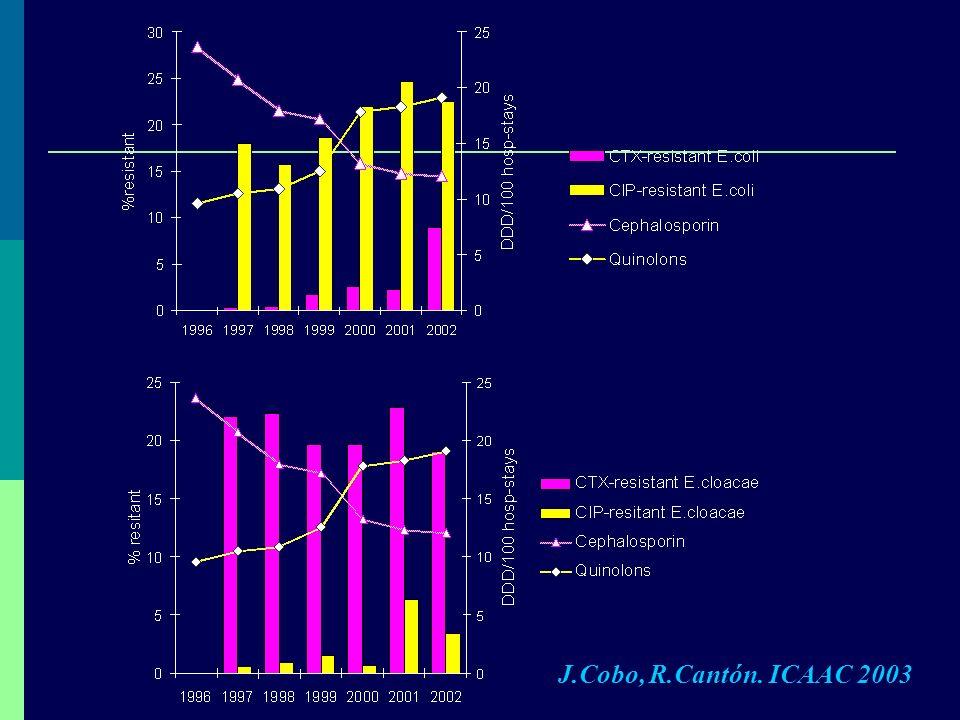 J.Cobo, R.Cantón. ICAAC 2003