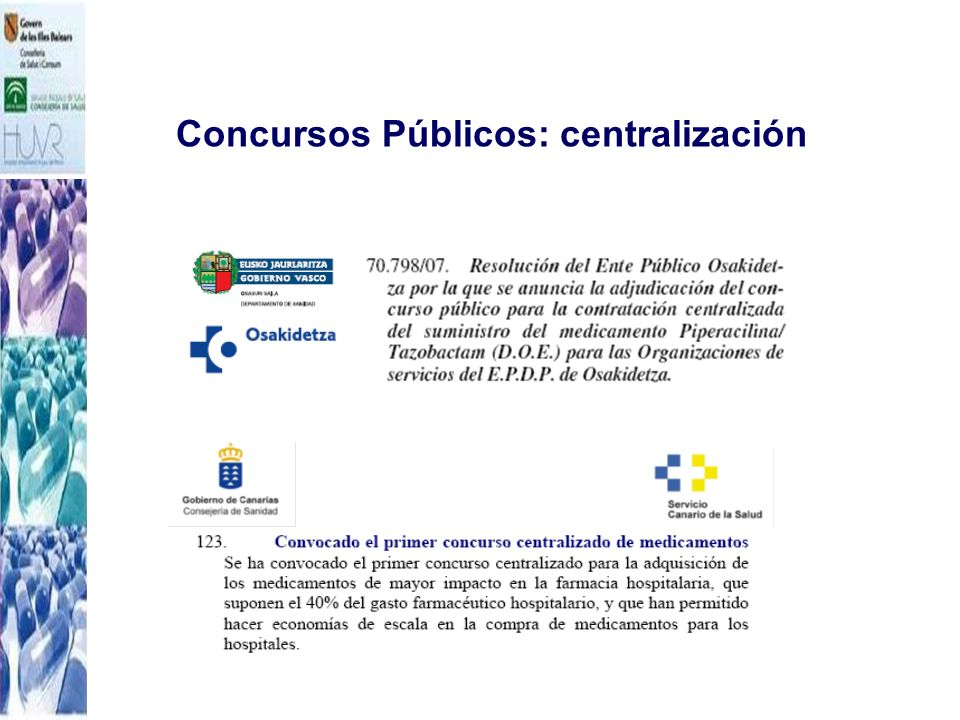 Concursos Públicos: centralización