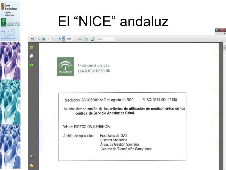 El NICE andaluz