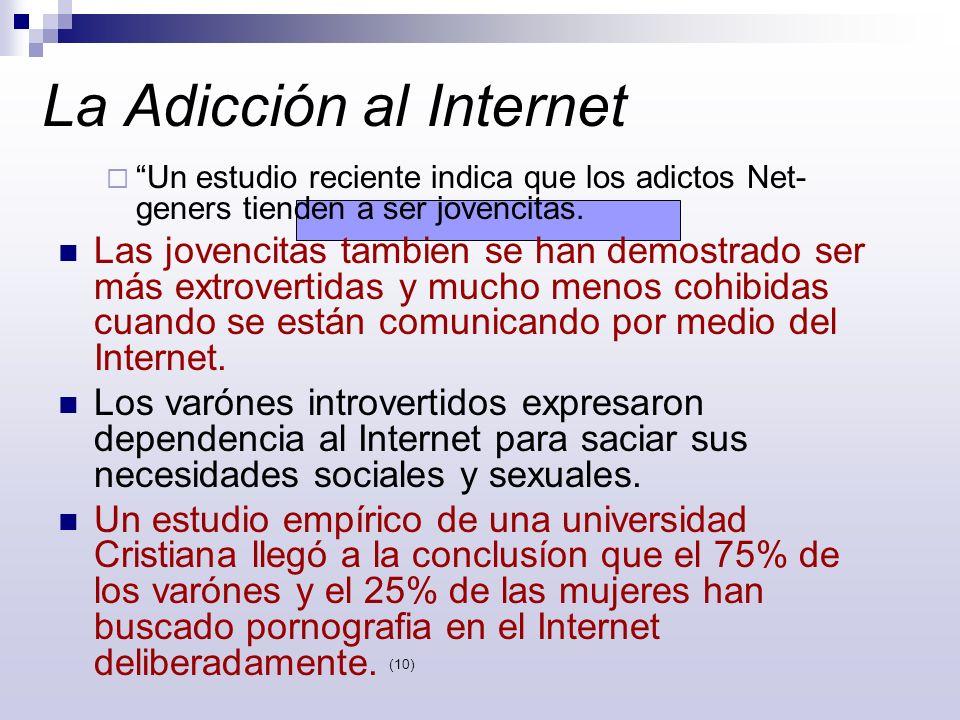 La Adicción al Internet