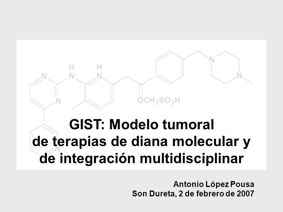 de terapias de diana molecular y de integración multidisciplinar