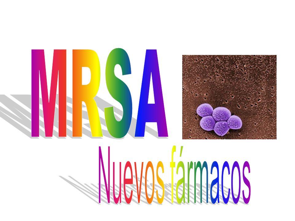 MRSA Nuevos fármacos