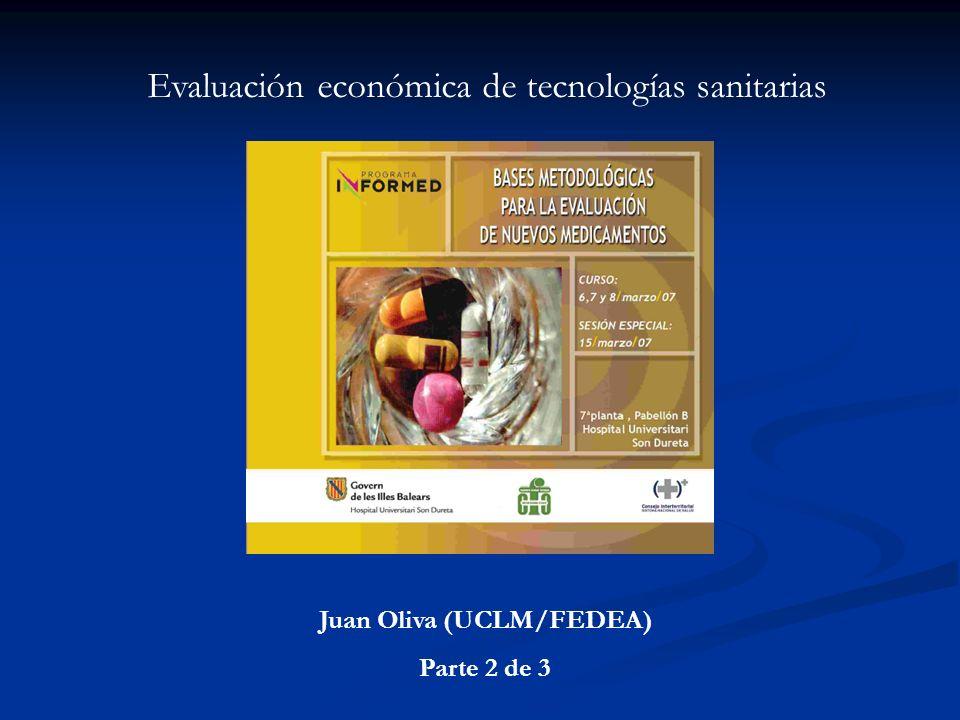 Juan Oliva (UCLM/FEDEA)