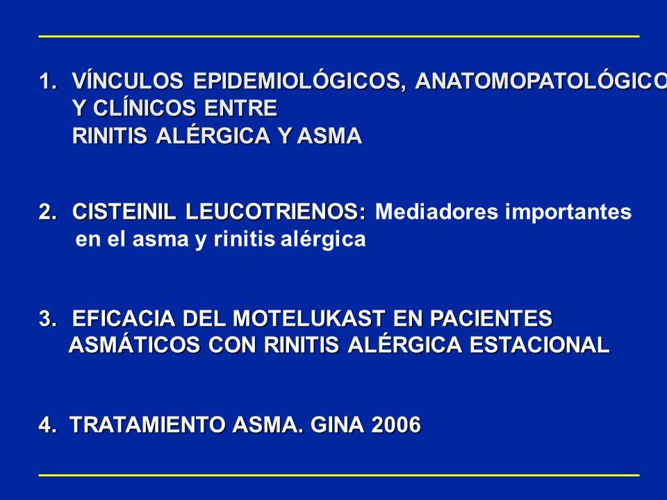 VÍNCULOS EPIDEMIOLÓGICOS, ANATOMOPATOLÓGICOS Y CLÍNICOS ENTRE