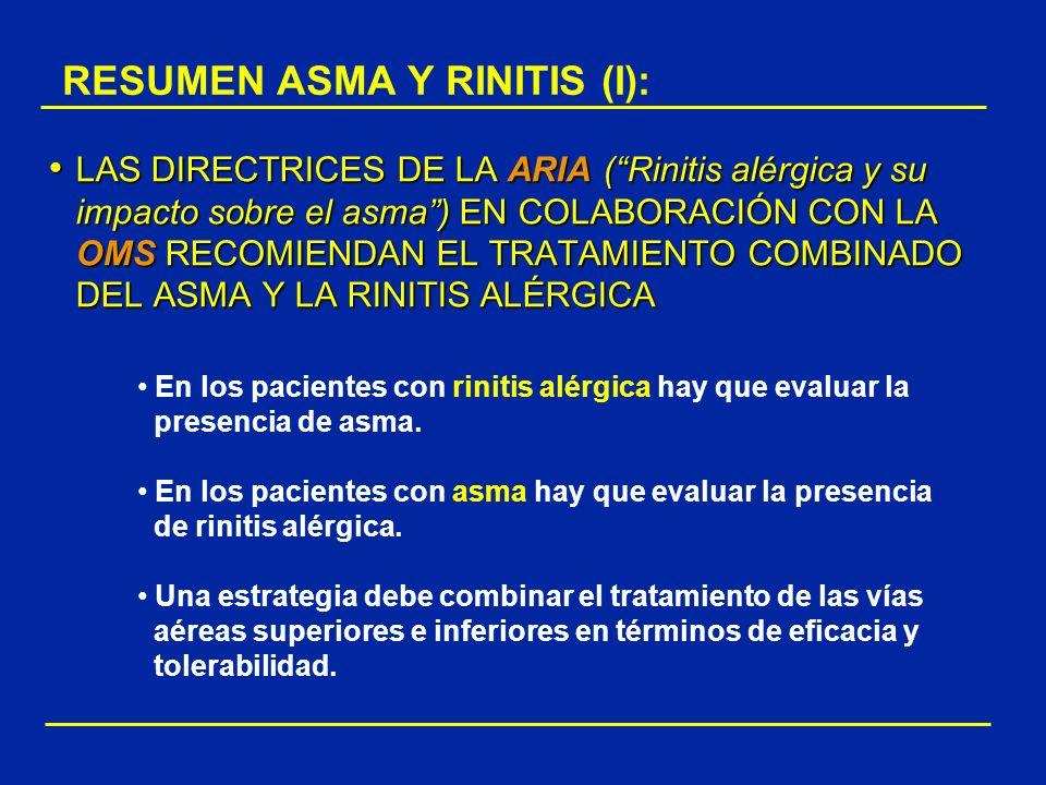 RESUMEN ASMA Y RINITIS (I):