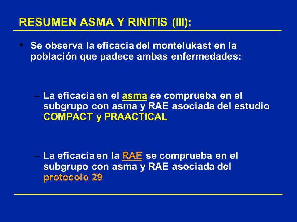 RESUMEN ASMA Y RINITIS (III):