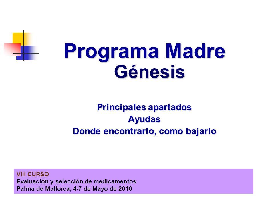 Programa Madre Génesis