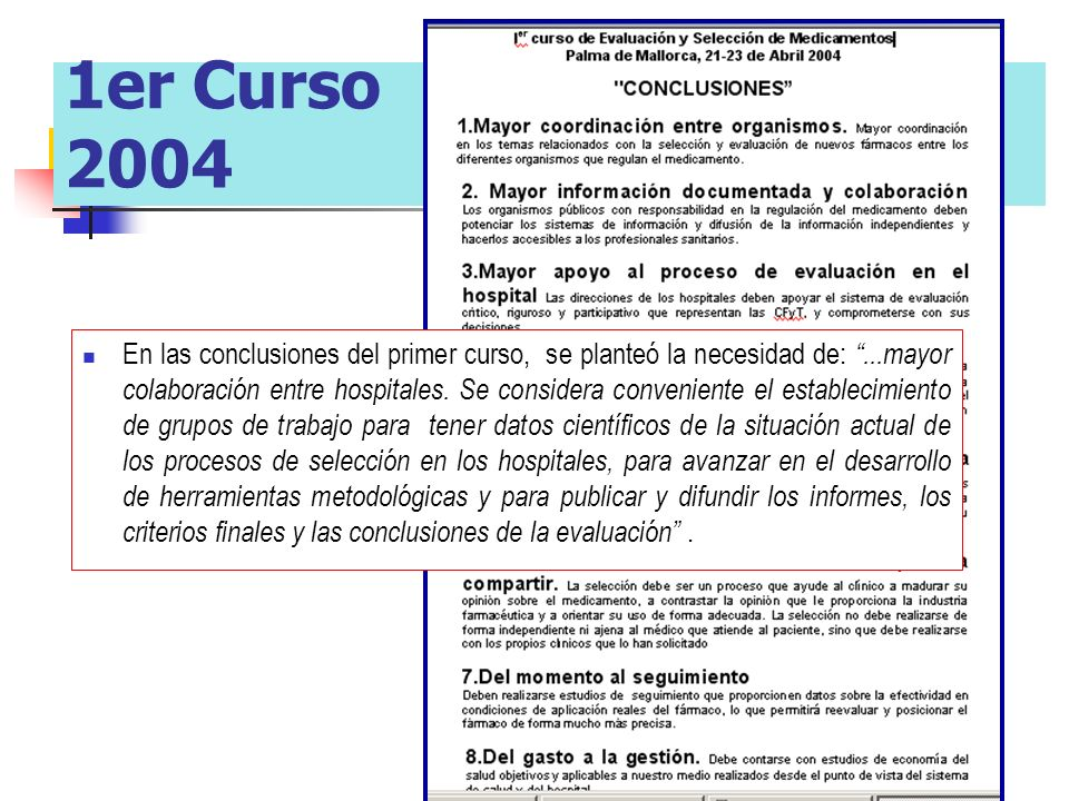 1er Curso 2004