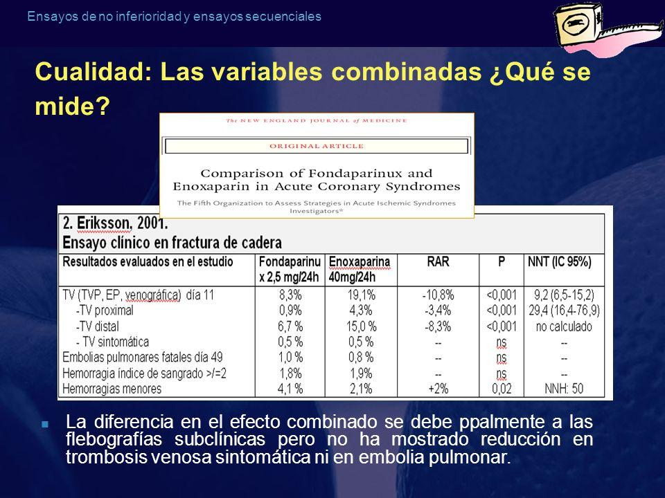 Cualidad: Las variables combinadas ¿Qué se mide
