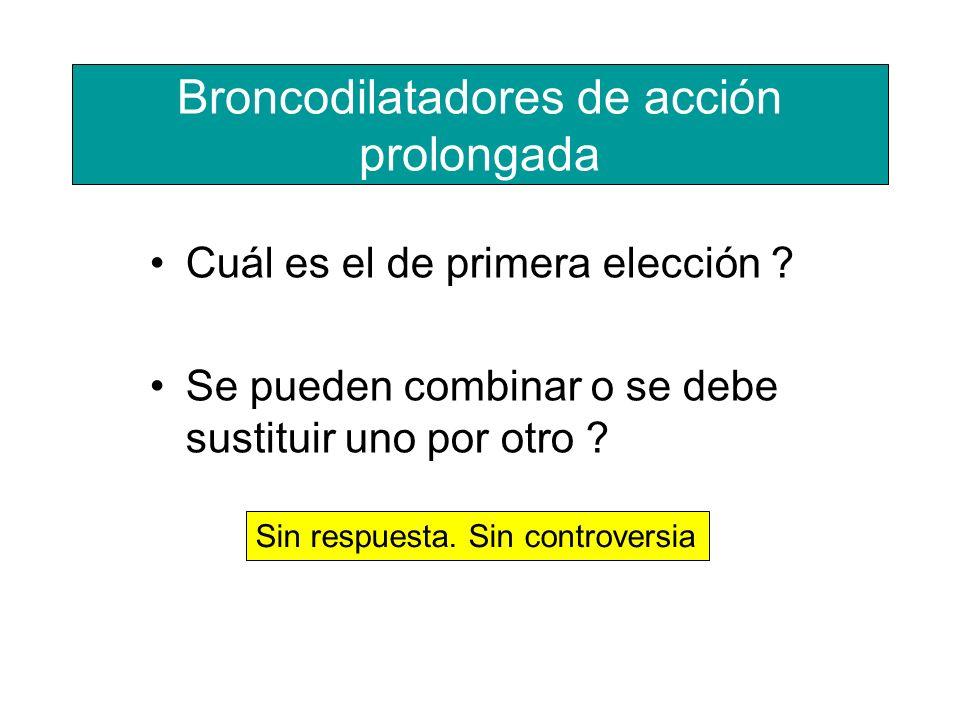 Broncodilatadores de acción prolongada