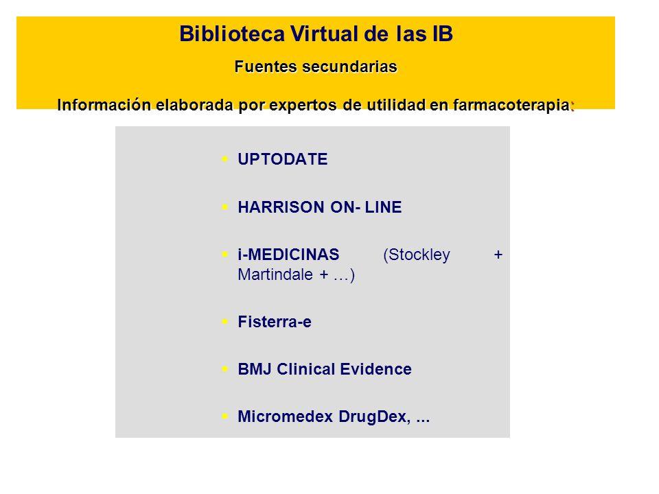 Biblioteca Virtual de las IB