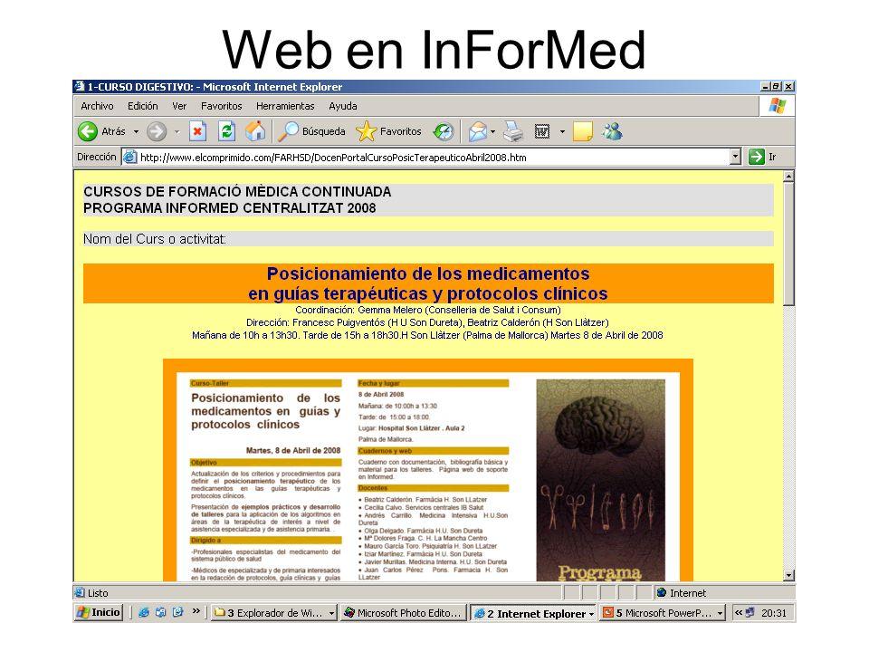 Web en InForMed