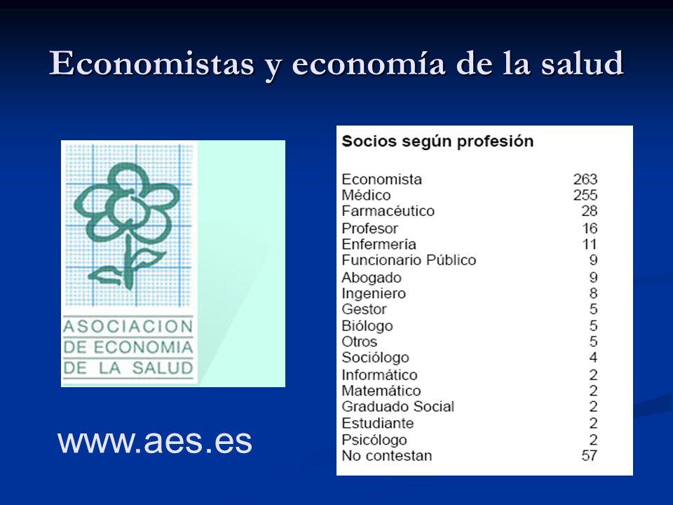 Economistas y economía de la salud