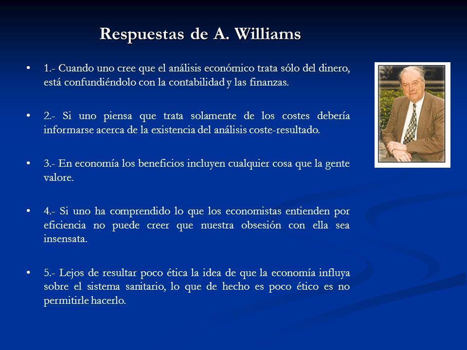 Respuestas de A. Williams