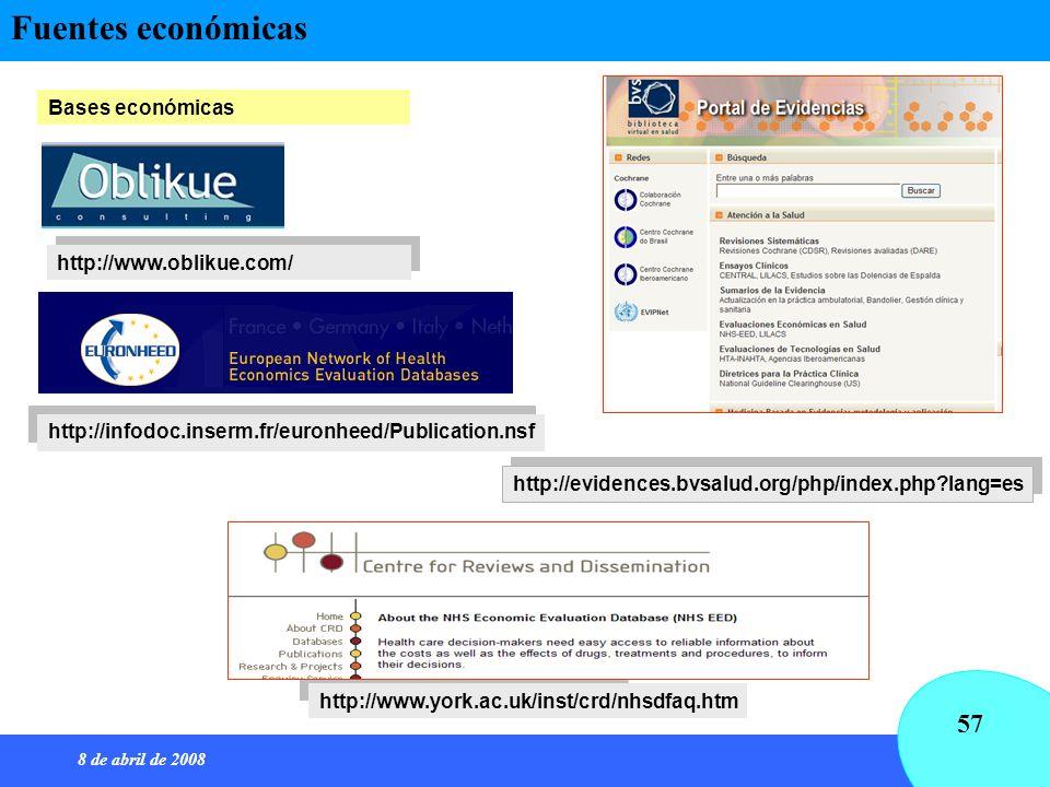 Fuentes económicas Bases económicas http://www.oblikue.com/