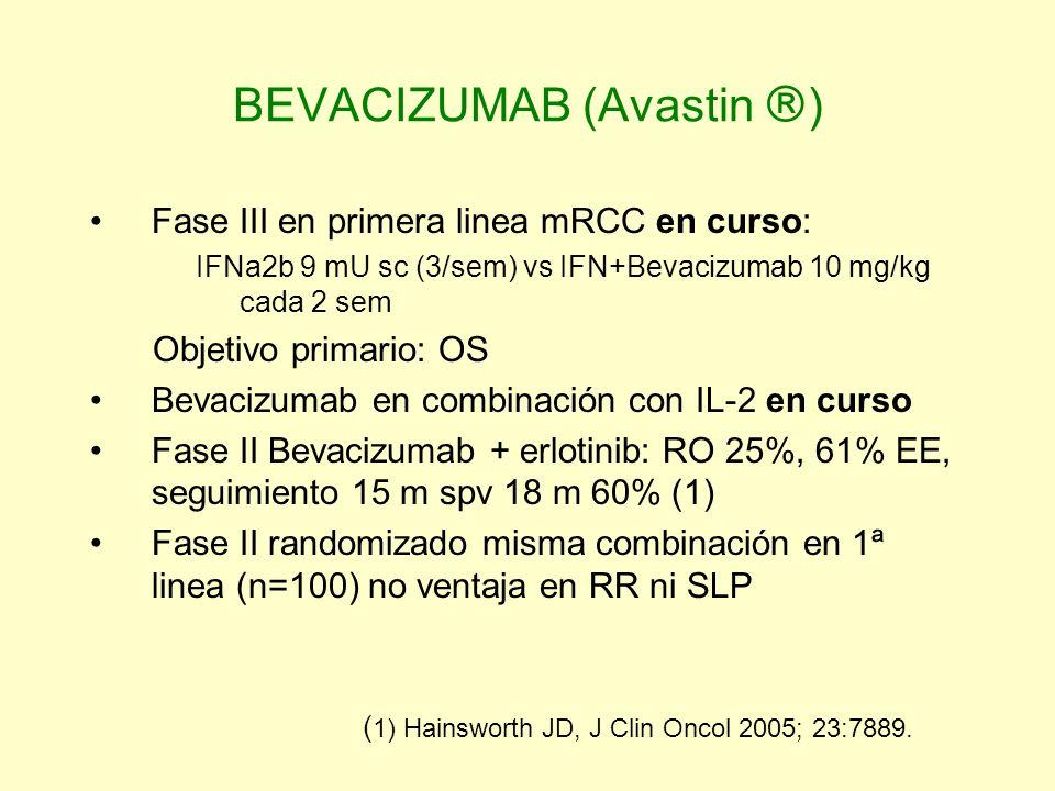 BEVACIZUMAB (Avastin )